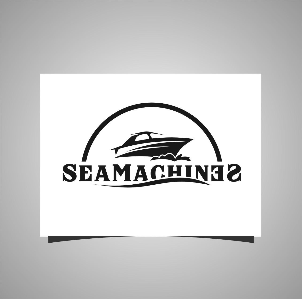 Logo Design by RasYa Muhammad Athaya - Entry No. 2 in the Logo Design Contest Creative Logo Design for SeaMachines.