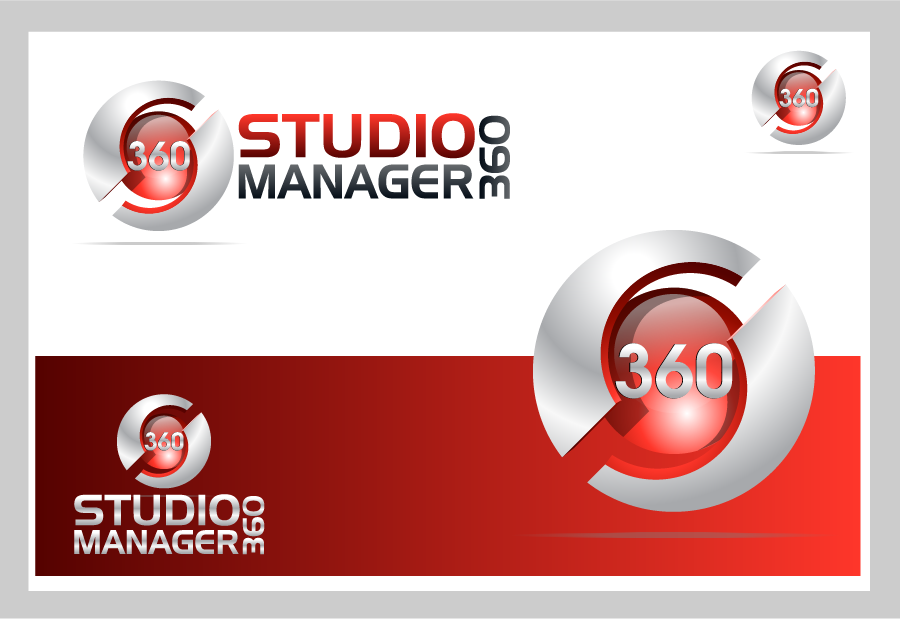 Logo Design by Private User - Entry No. 195 in the Logo Design Contest Unique Logo Design Wanted for Studio Manager 360.