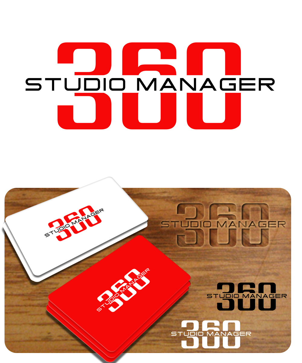 Logo Design by Private User - Entry No. 196 in the Logo Design Contest Unique Logo Design Wanted for Studio Manager 360.