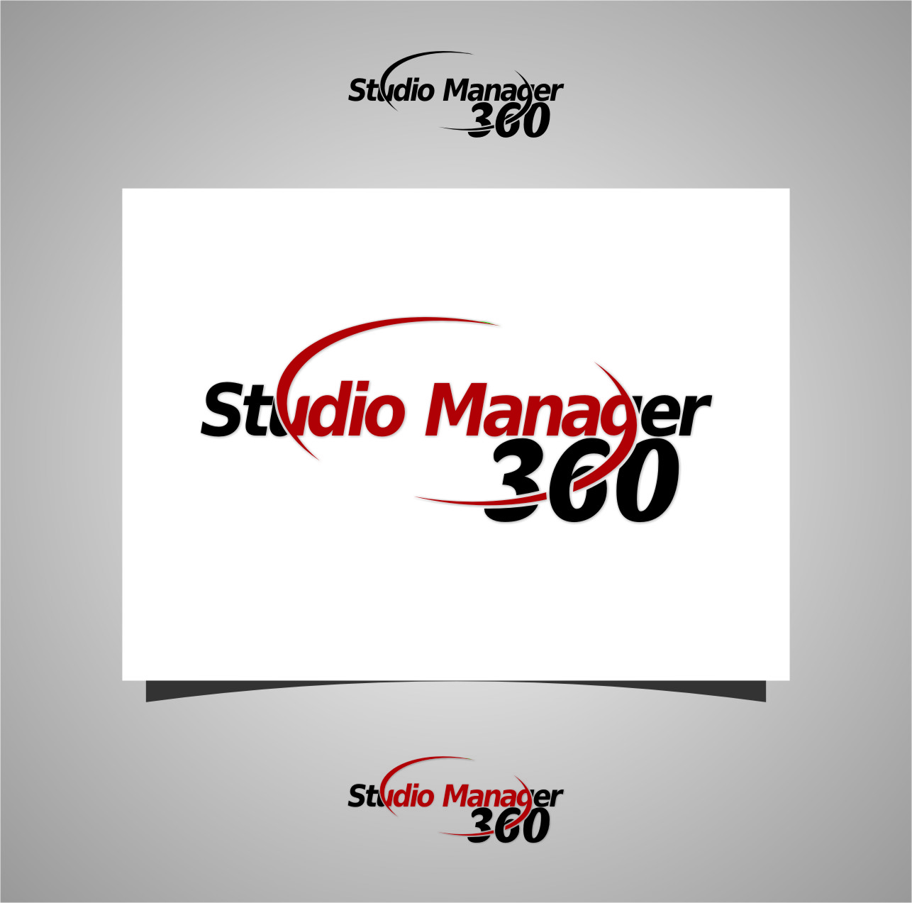 Logo Design by RasYa Muhammad Athaya - Entry No. 197 in the Logo Design Contest Unique Logo Design Wanted for Studio Manager 360.