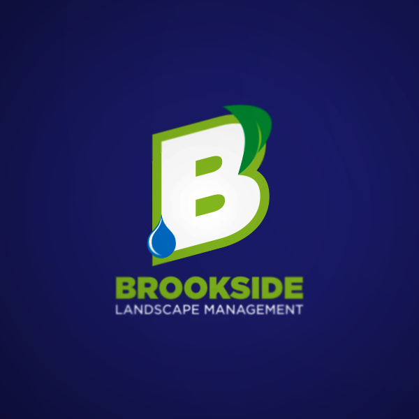 Logo Design by Private User - Entry No. 17 in the Logo Design Contest New Logo Design for Brookside Landscape Management.