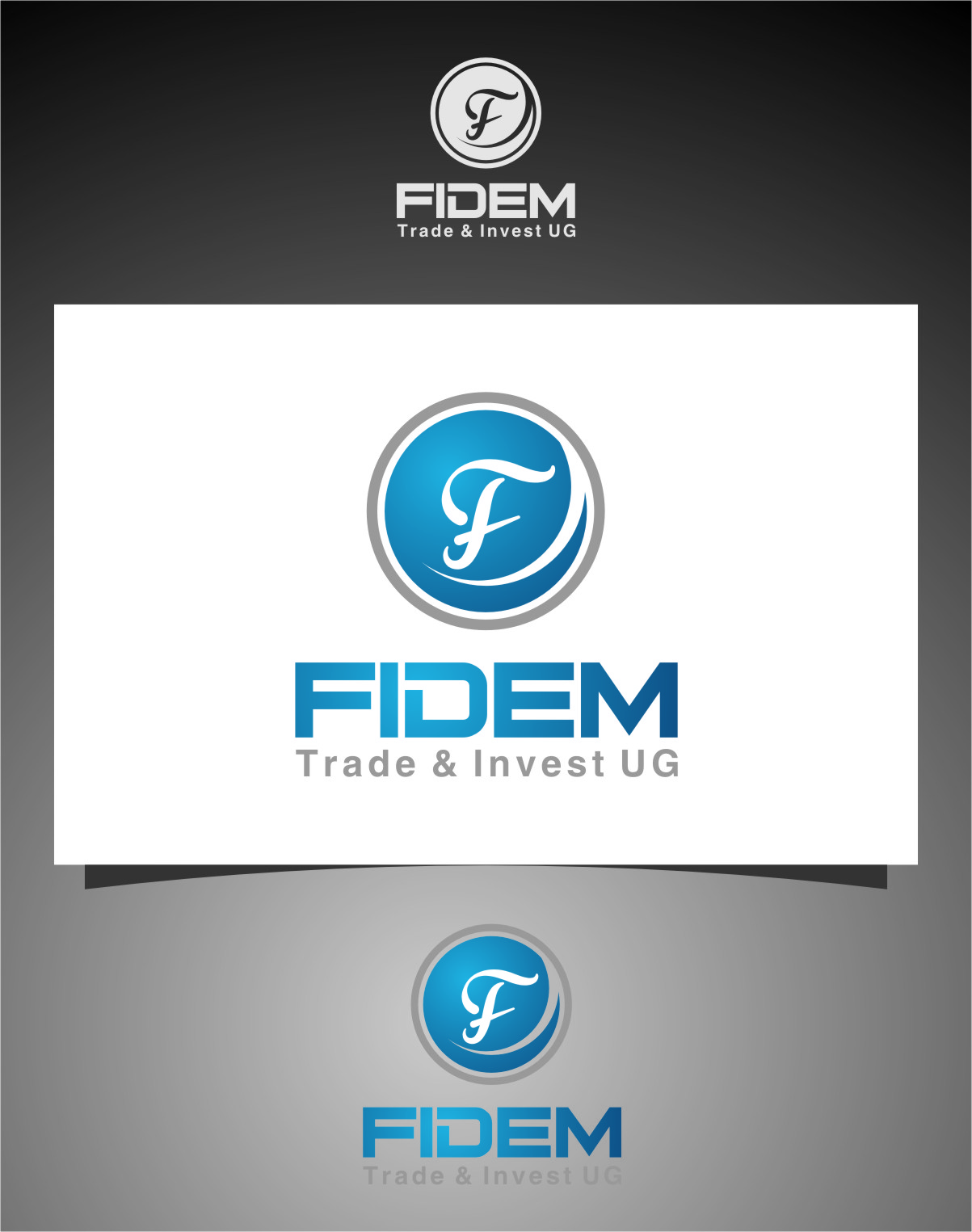 Logo Design by Ngepet_art - Entry No. 69 in the Logo Design Contest Professional Logo Design for FIDEM Trade & Invest UG.