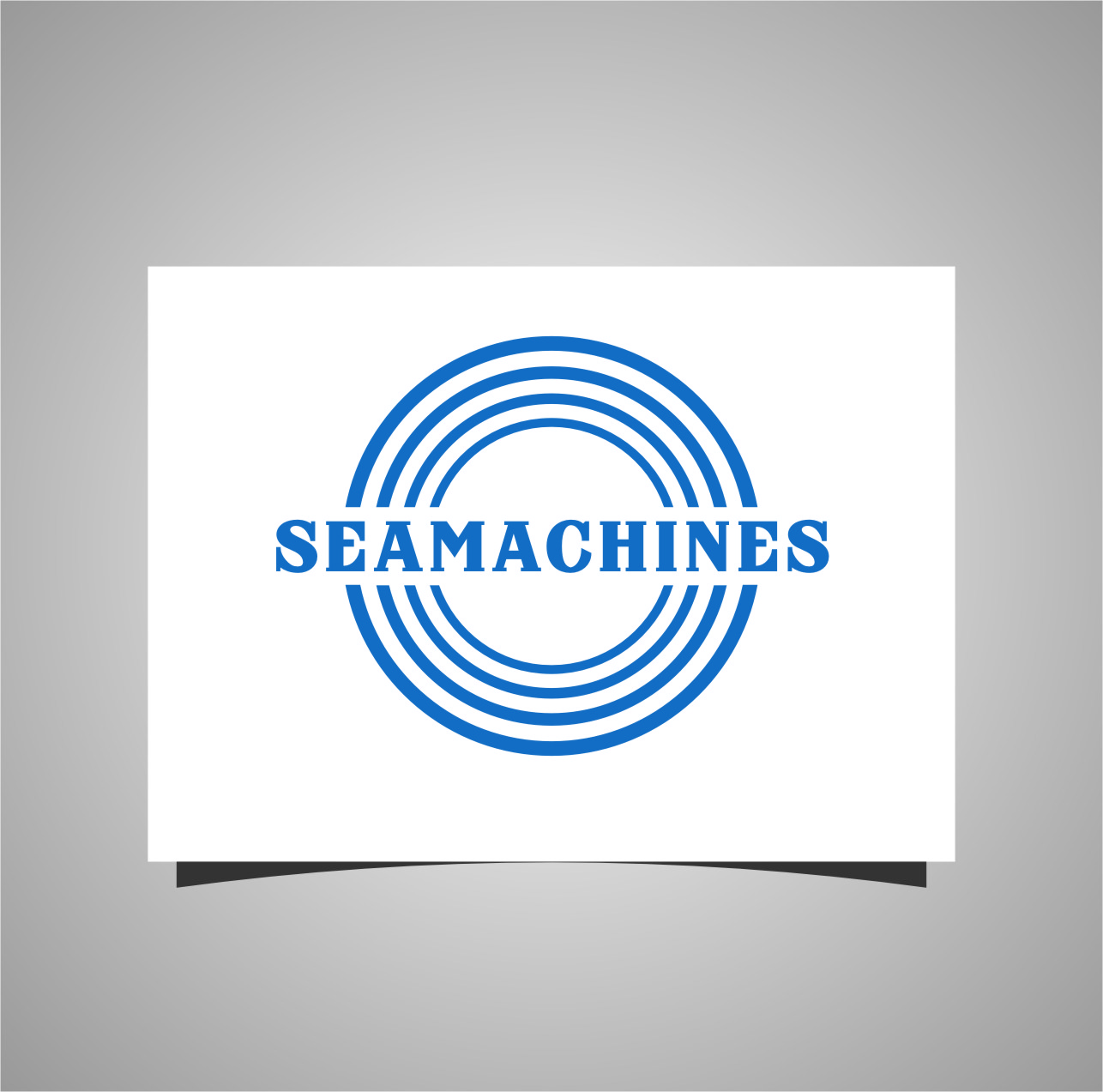 Logo Design by Ngepet_art - Entry No. 9 in the Logo Design Contest Creative Logo Design for SeaMachines.