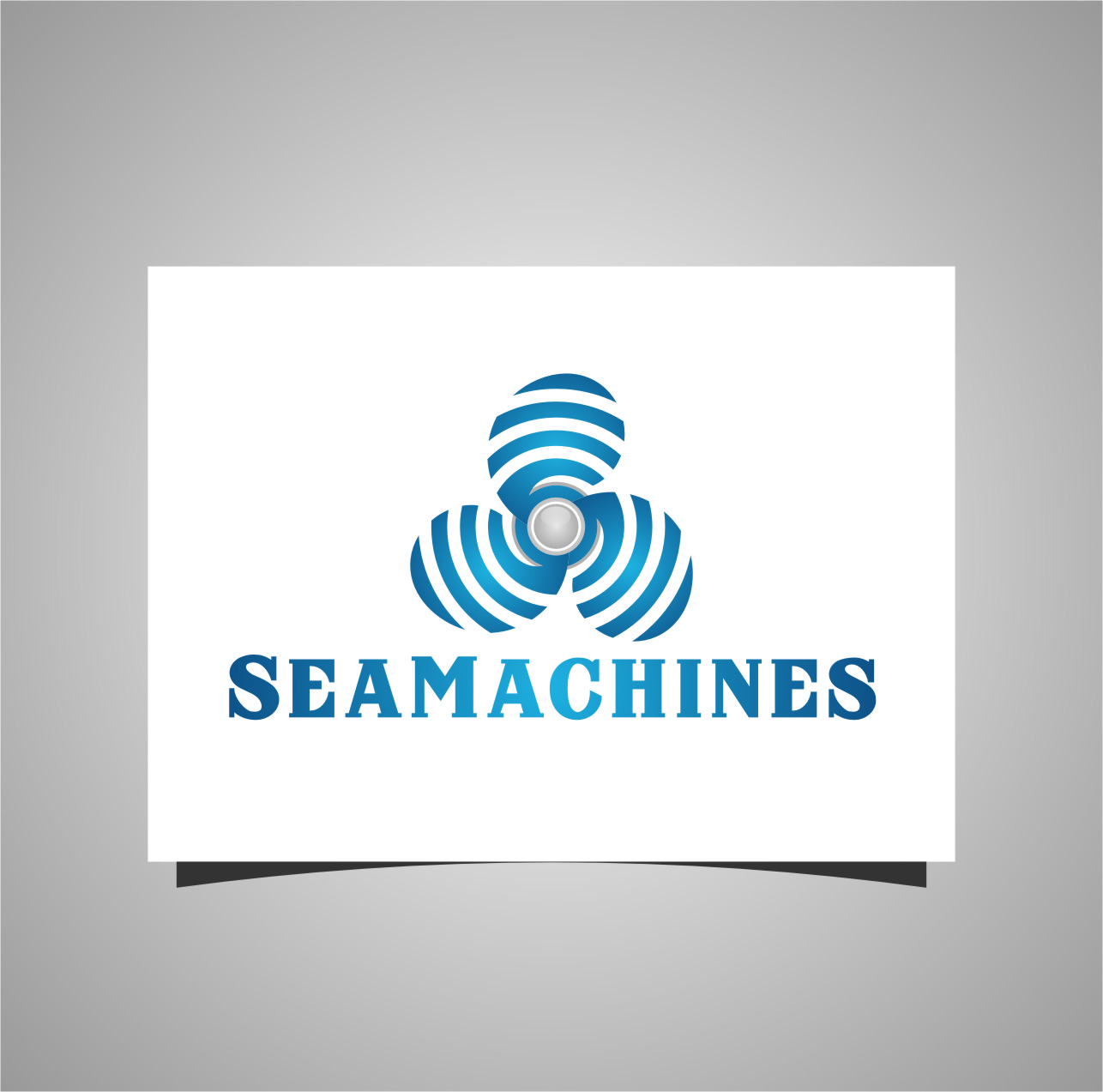 Logo Design by RasYa Muhammad Athaya - Entry No. 10 in the Logo Design Contest Creative Logo Design for SeaMachines.