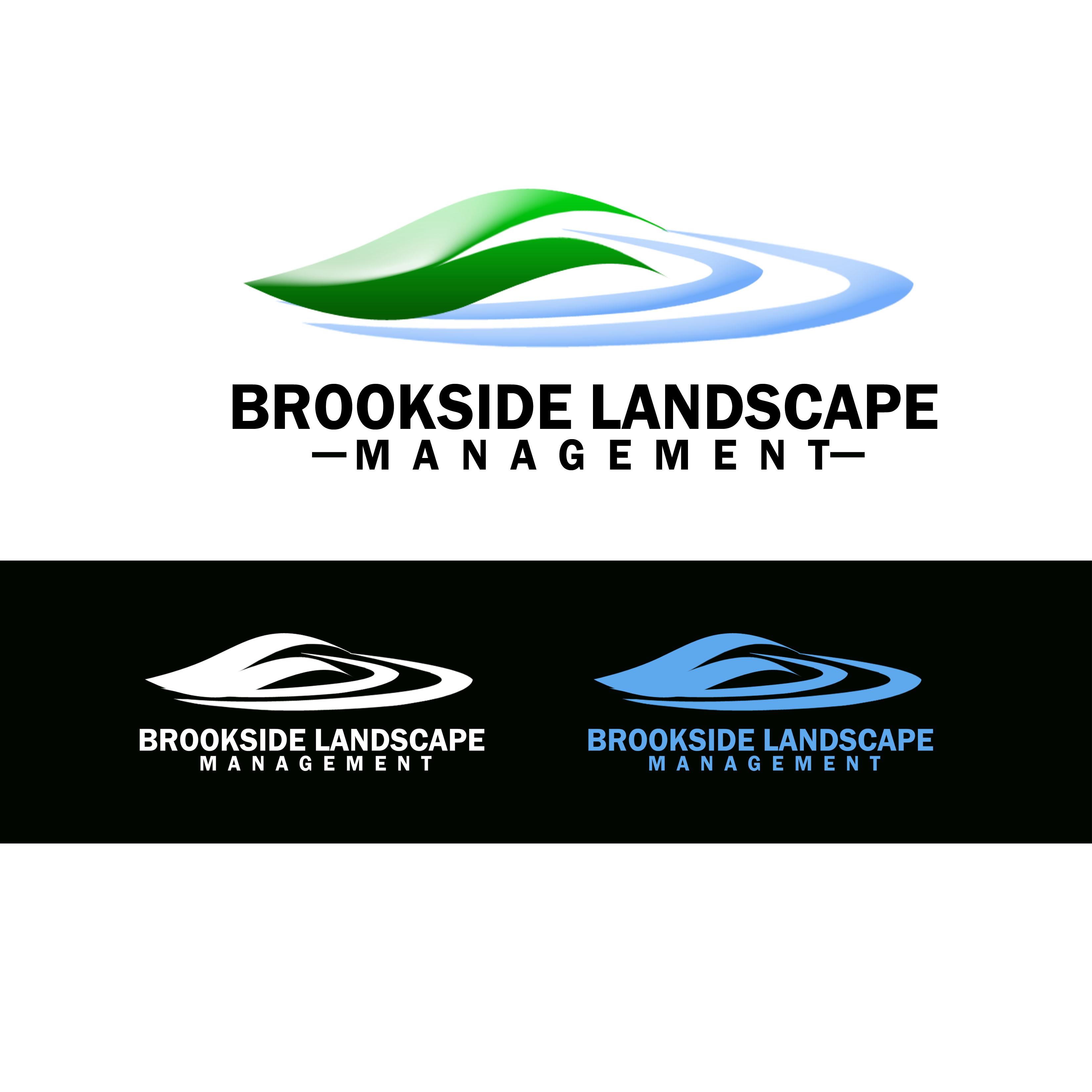 Logo Design by Allan Esclamado - Entry No. 24 in the Logo Design Contest New Logo Design for Brookside Landscape Management.