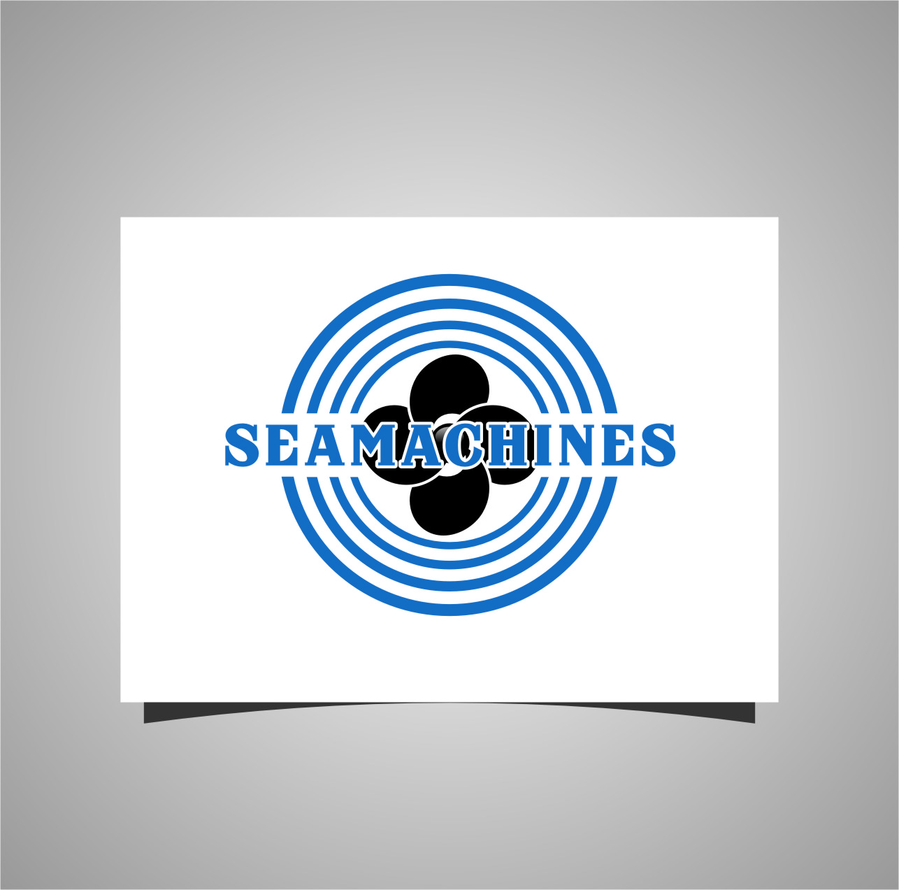 Logo Design by Ngepet_art - Entry No. 15 in the Logo Design Contest Creative Logo Design for SeaMachines.