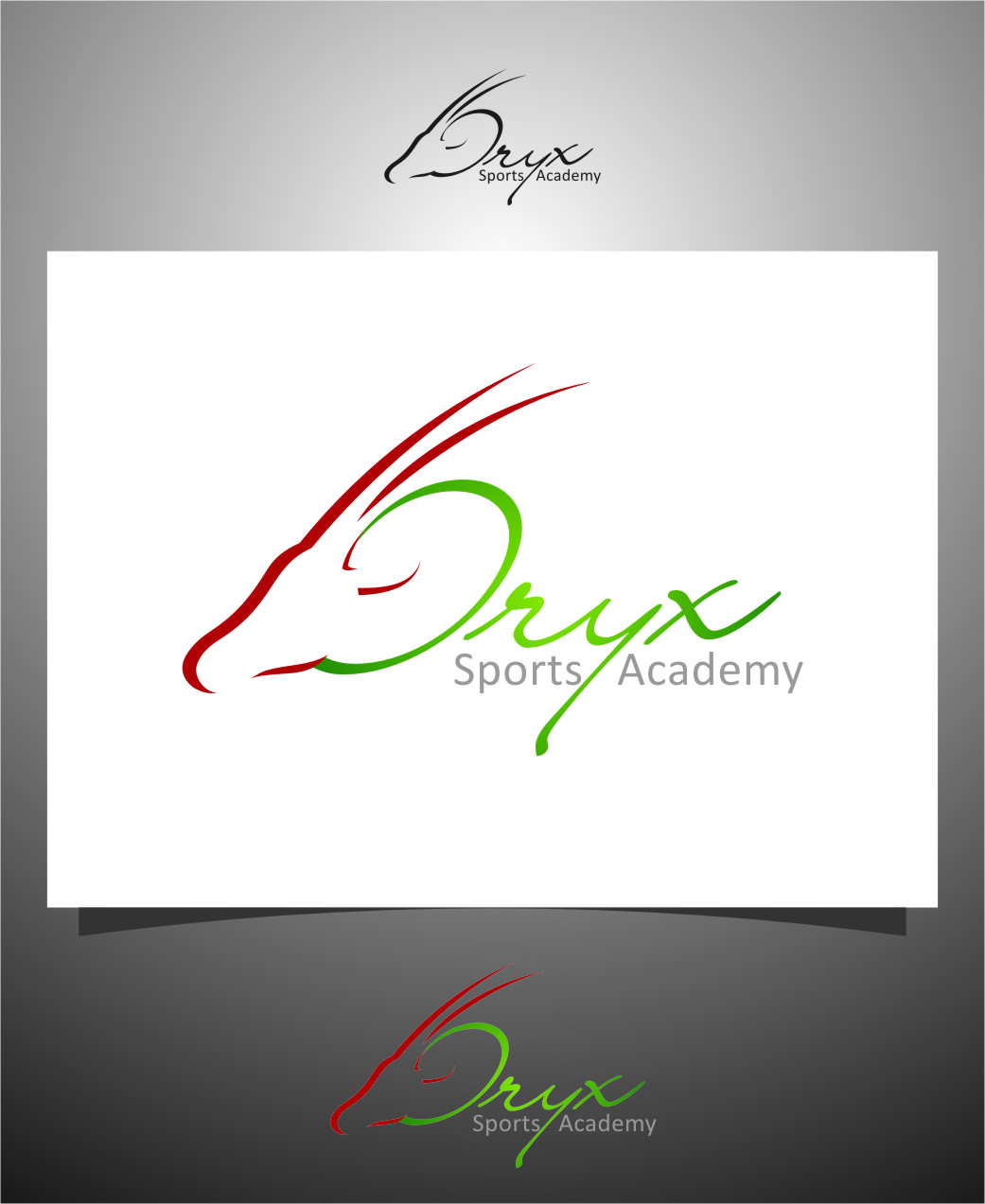 Logo Design by Ngepet_art - Entry No. 101 in the Logo Design Contest New Logo Design for Oryx Sports Academy.