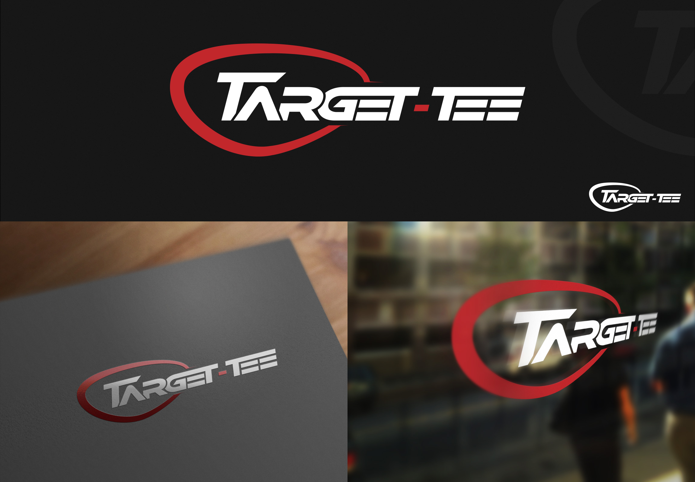 Logo Design by olii - Entry No. 109 in the Logo Design Contest Imaginative Logo Design for TARGET-TEE.