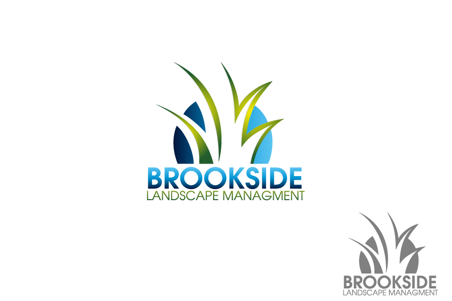 Logo Design by Private User - Entry No. 32 in the Logo Design Contest New Logo Design for Brookside Landscape Management.