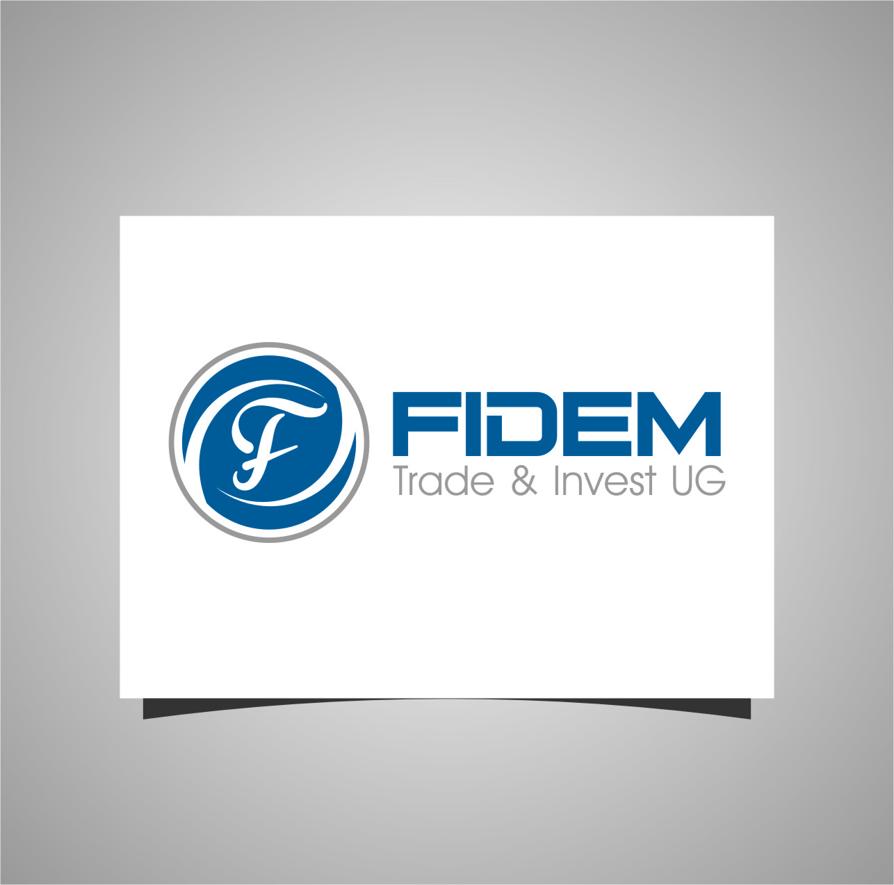 Logo Design by RasYa Muhammad Athaya - Entry No. 81 in the Logo Design Contest Professional Logo Design for FIDEM Trade & Invest UG.