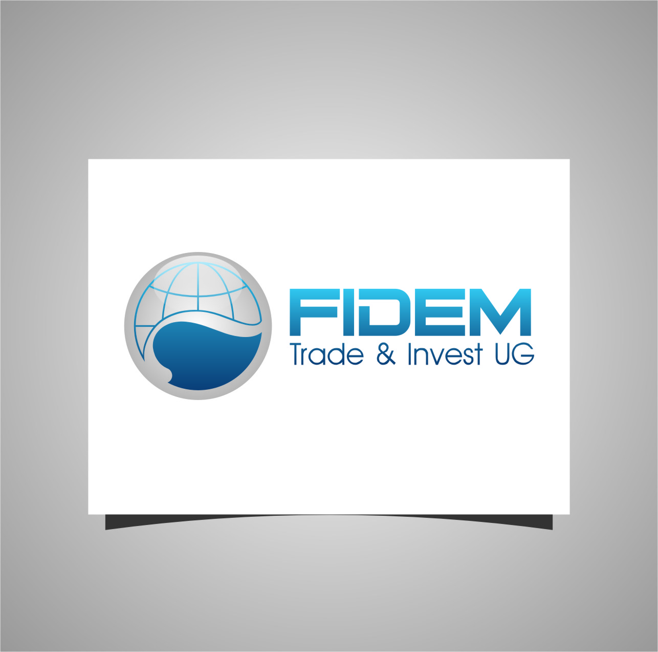 Logo Design by Ngepet_art - Entry No. 90 in the Logo Design Contest Professional Logo Design for FIDEM Trade & Invest UG.