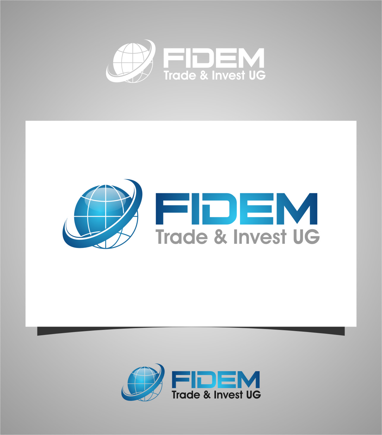 Logo Design by RasYa Muhammad Athaya - Entry No. 91 in the Logo Design Contest Professional Logo Design for FIDEM Trade & Invest UG.