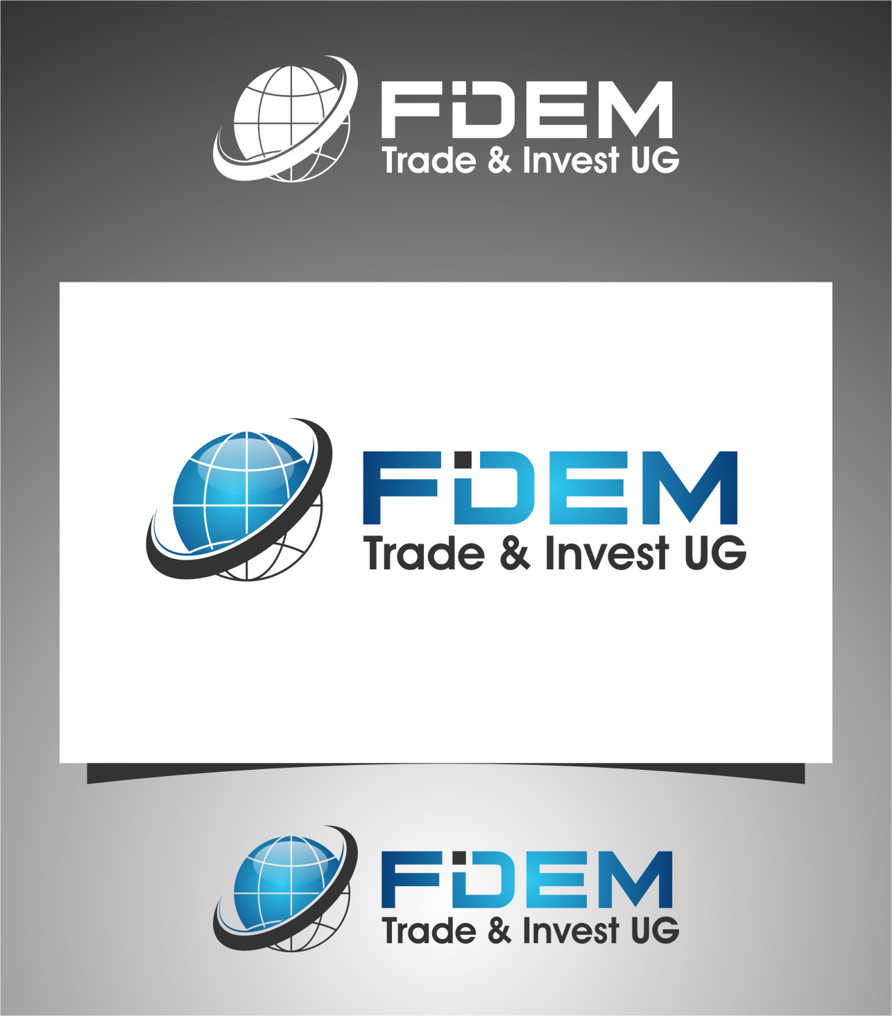 Logo Design by RasYa Muhammad Athaya - Entry No. 93 in the Logo Design Contest Professional Logo Design for FIDEM Trade & Invest UG.