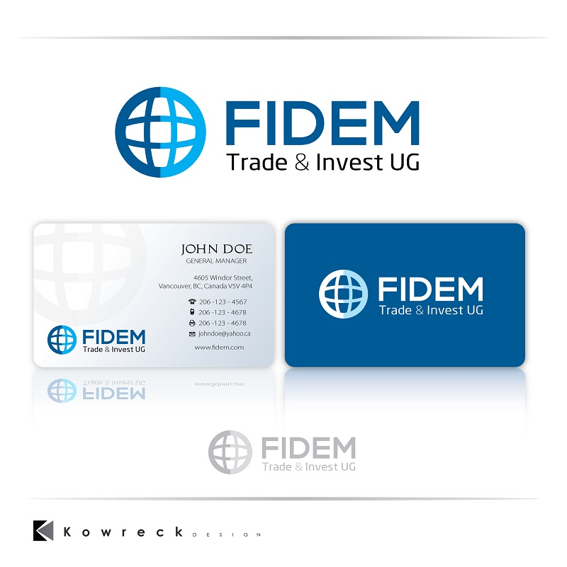 Logo Design by kowreck - Entry No. 100 in the Logo Design Contest Professional Logo Design for FIDEM Trade & Invest UG.