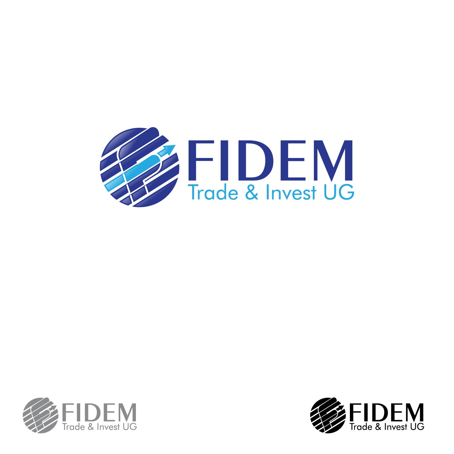 Logo Design by lagalag - Entry No. 101 in the Logo Design Contest Professional Logo Design for FIDEM Trade & Invest UG.
