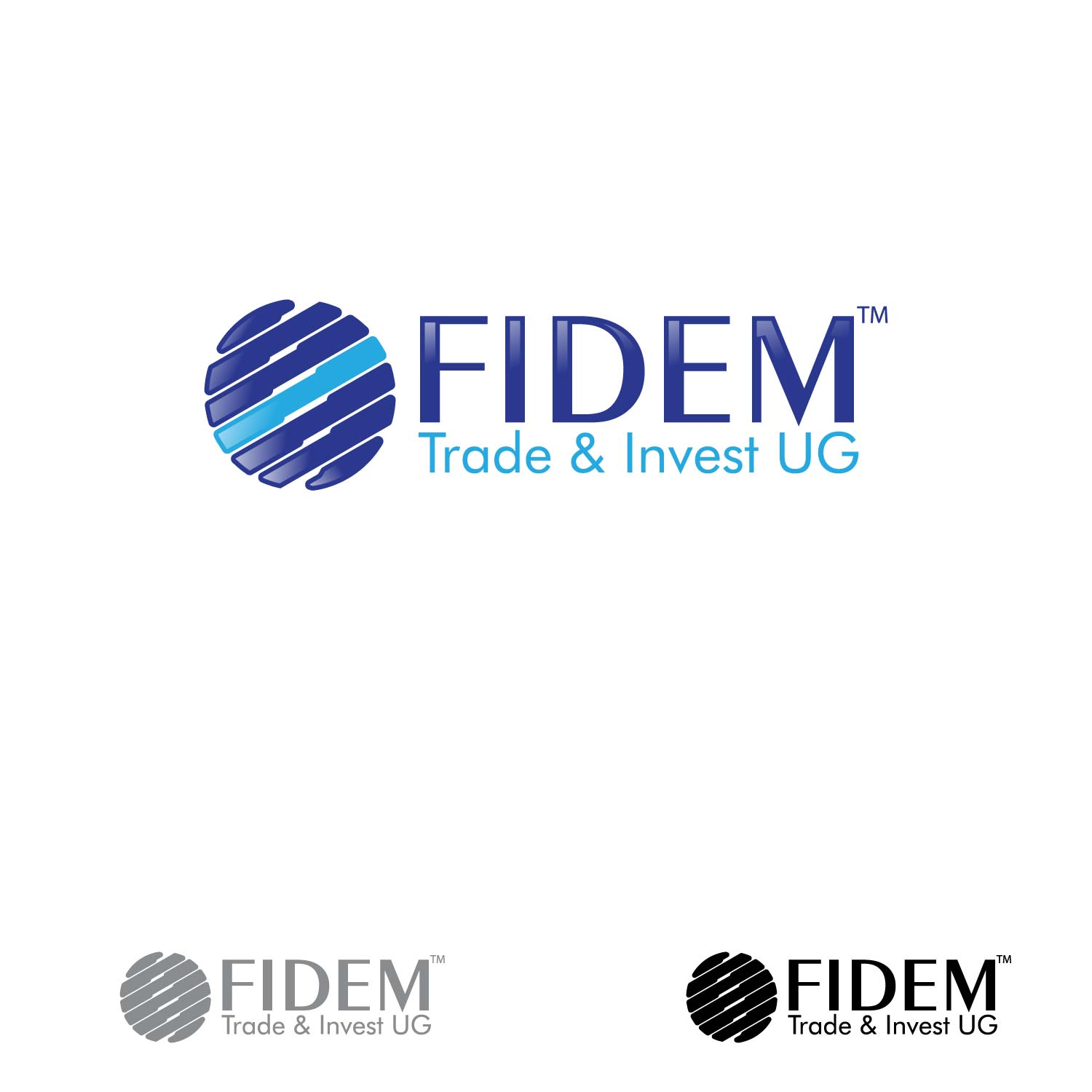 Logo Design by lagalag - Entry No. 106 in the Logo Design Contest Professional Logo Design for FIDEM Trade & Invest UG.