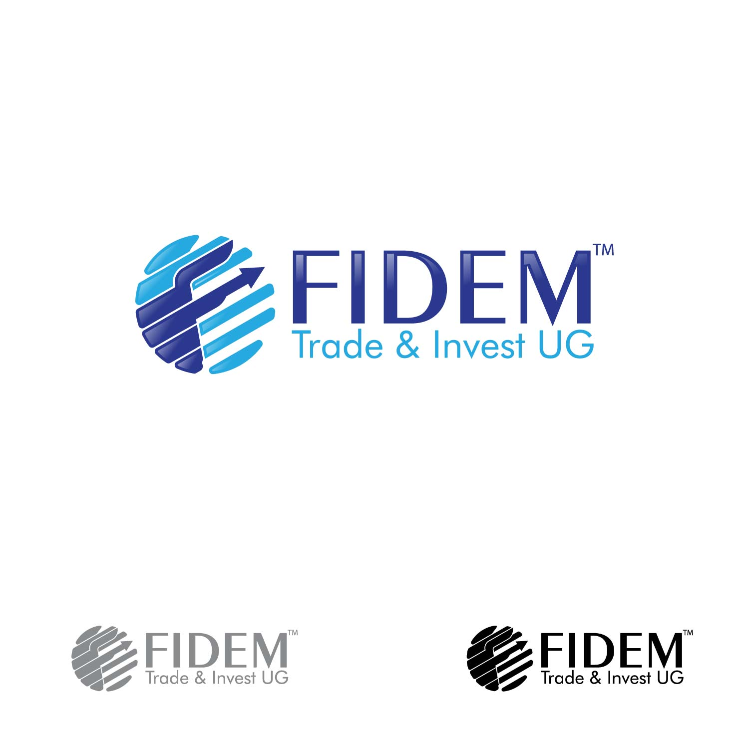 Logo Design by lagalag - Entry No. 107 in the Logo Design Contest Professional Logo Design for FIDEM Trade & Invest UG.