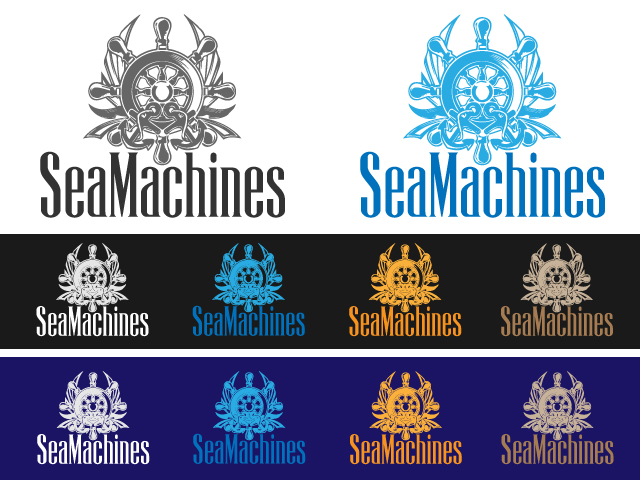 Logo Design by ronik.web - Entry No. 27 in the Logo Design Contest Creative Logo Design for SeaMachines.