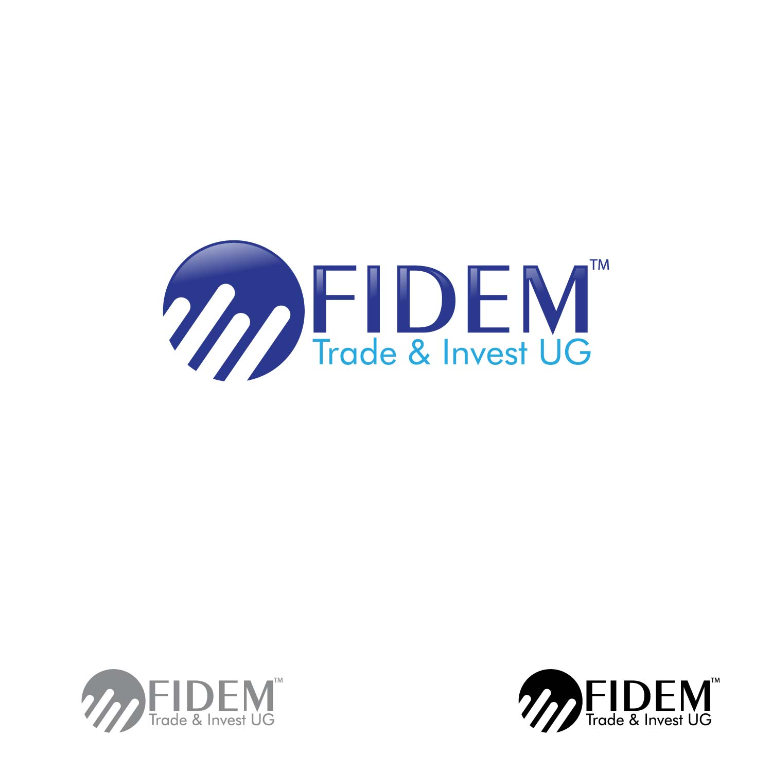 Logo Design by lagalag - Entry No. 112 in the Logo Design Contest Professional Logo Design for FIDEM Trade & Invest UG.