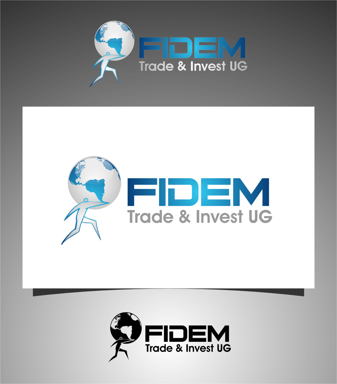 Logo Design by Ngepet_art - Entry No. 114 in the Logo Design Contest Professional Logo Design for FIDEM Trade & Invest UG.