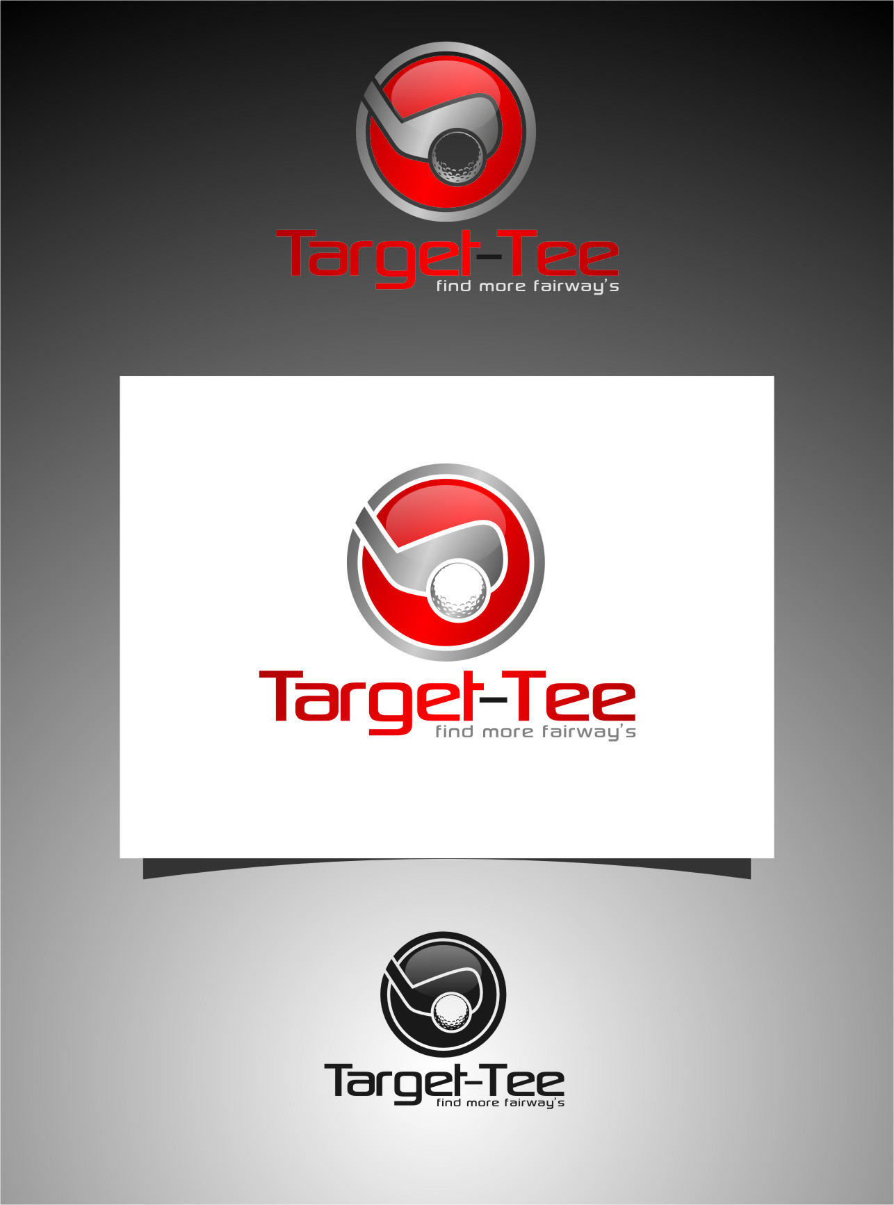 Logo Design by RasYa Muhammad Athaya - Entry No. 127 in the Logo Design Contest Imaginative Logo Design for TARGET-TEE.