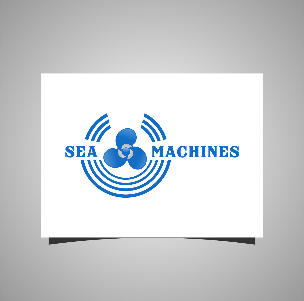 Logo Design by Ngepet_art - Entry No. 33 in the Logo Design Contest Creative Logo Design for SeaMachines.