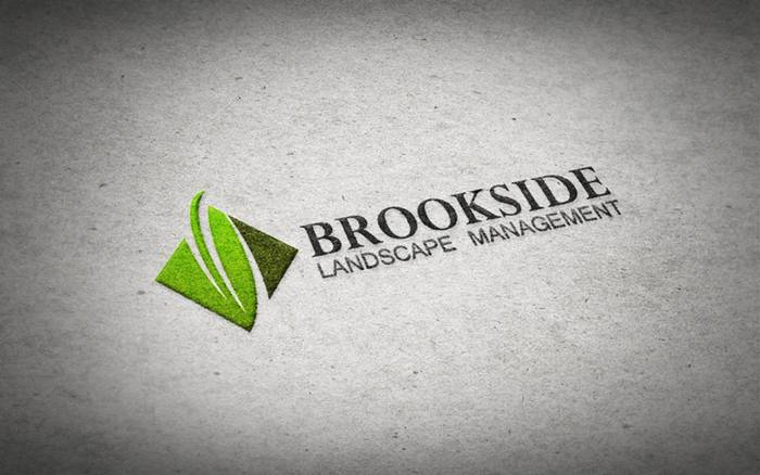 Logo Design by Respati Himawan - Entry No. 38 in the Logo Design Contest New Logo Design for Brookside Landscape Management.