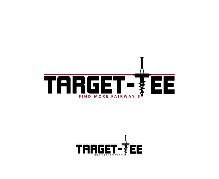 Logo Design by Juan_Kata - Entry No. 128 in the Logo Design Contest Imaginative Logo Design for TARGET-TEE.