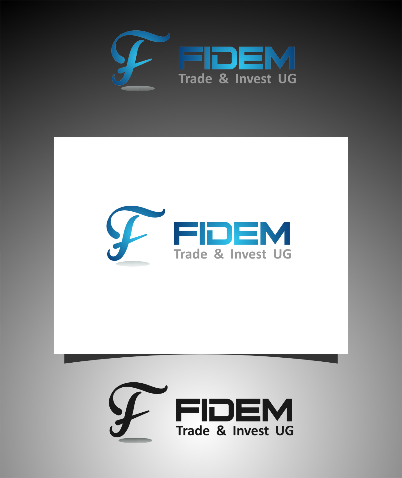 Logo Design by Ngepet_art - Entry No. 141 in the Logo Design Contest Professional Logo Design for FIDEM Trade & Invest UG.
