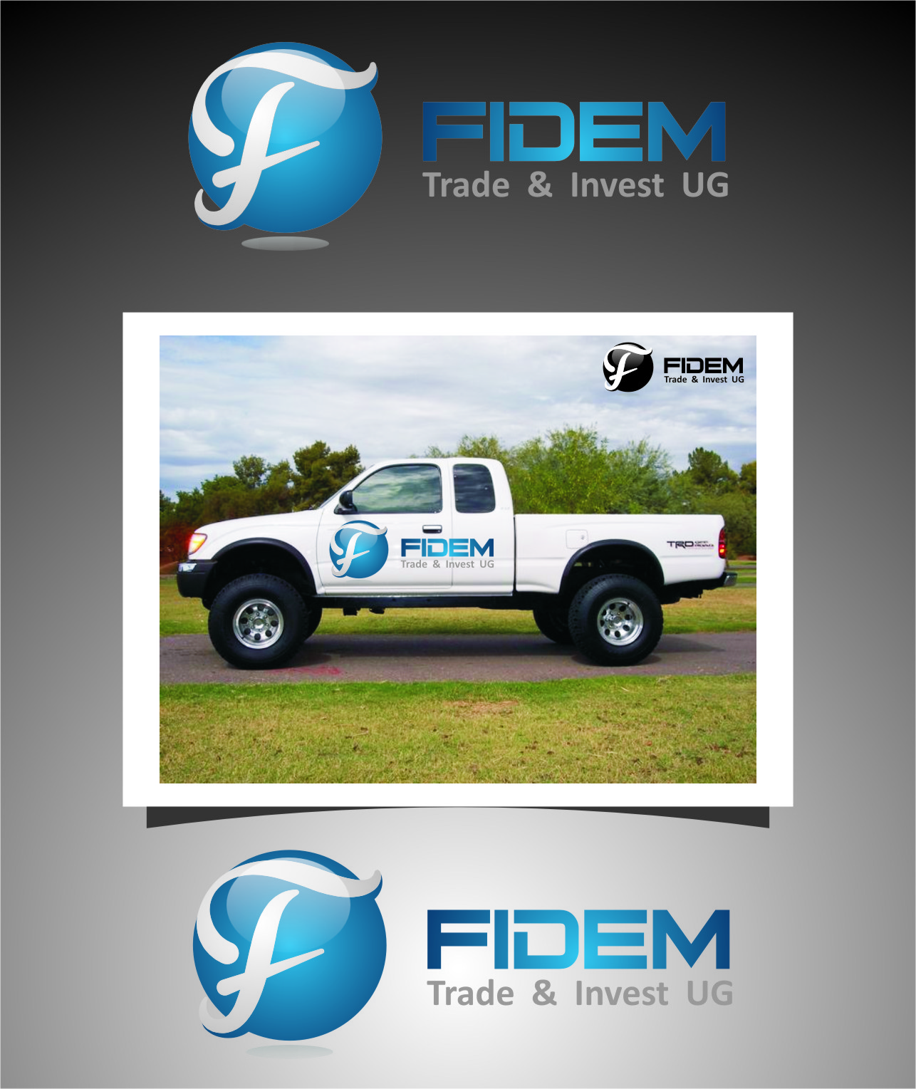 Logo Design by RasYa Muhammad Athaya - Entry No. 142 in the Logo Design Contest Professional Logo Design for FIDEM Trade & Invest UG.