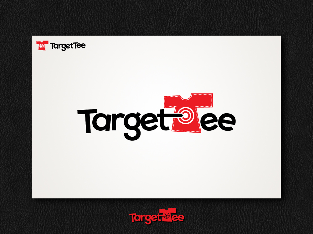 Logo Design by aleeshan - Entry No. 129 in the Logo Design Contest Imaginative Logo Design for TARGET-TEE.