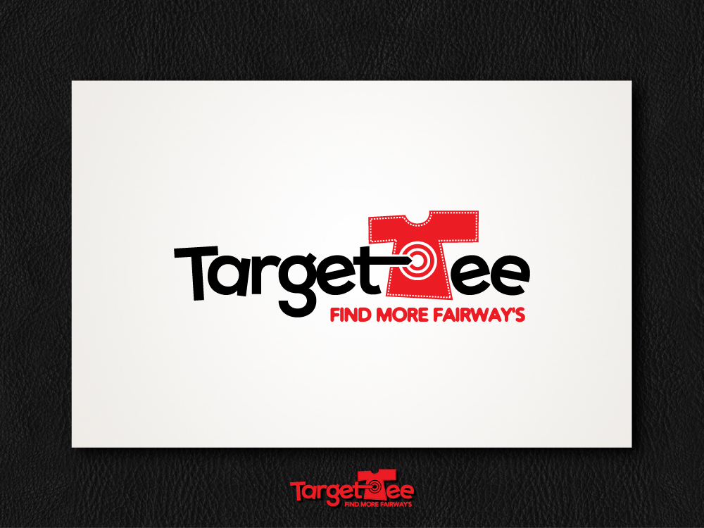 Logo Design by aleeshan - Entry No. 130 in the Logo Design Contest Imaginative Logo Design for TARGET-TEE.
