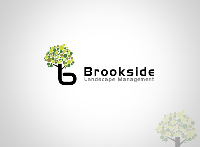 Logo Design by Jan Chua - Entry No. 43 in the Logo Design Contest New Logo Design for Brookside Landscape Management.