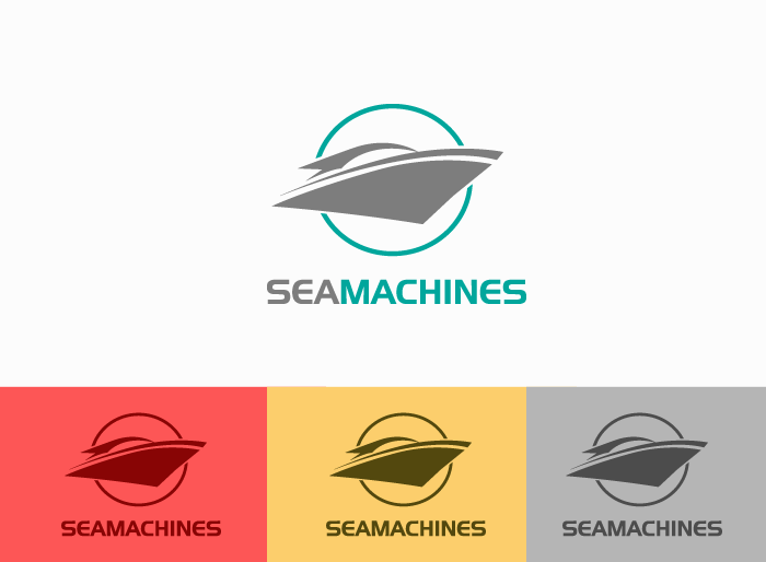 Logo Design by Jan Chua - Entry No. 46 in the Logo Design Contest Creative Logo Design for SeaMachines.