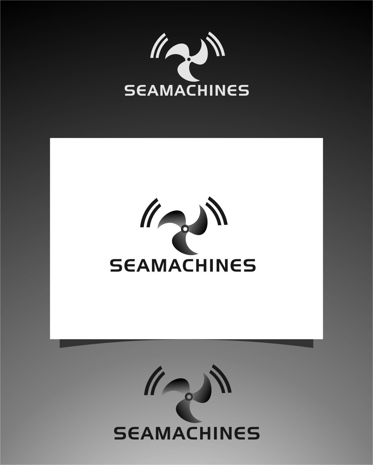 Logo Design by Ngepet_art - Entry No. 47 in the Logo Design Contest Creative Logo Design for SeaMachines.