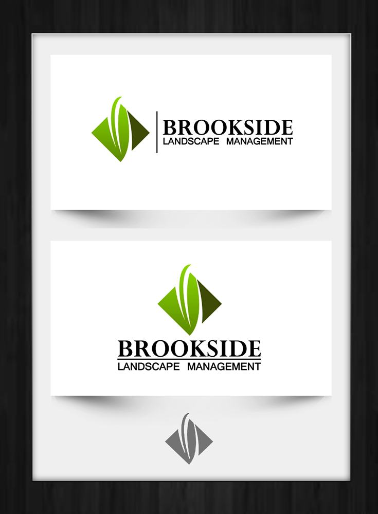 Logo Design by Respati Himawan - Entry No. 44 in the Logo Design Contest New Logo Design for Brookside Landscape Management.