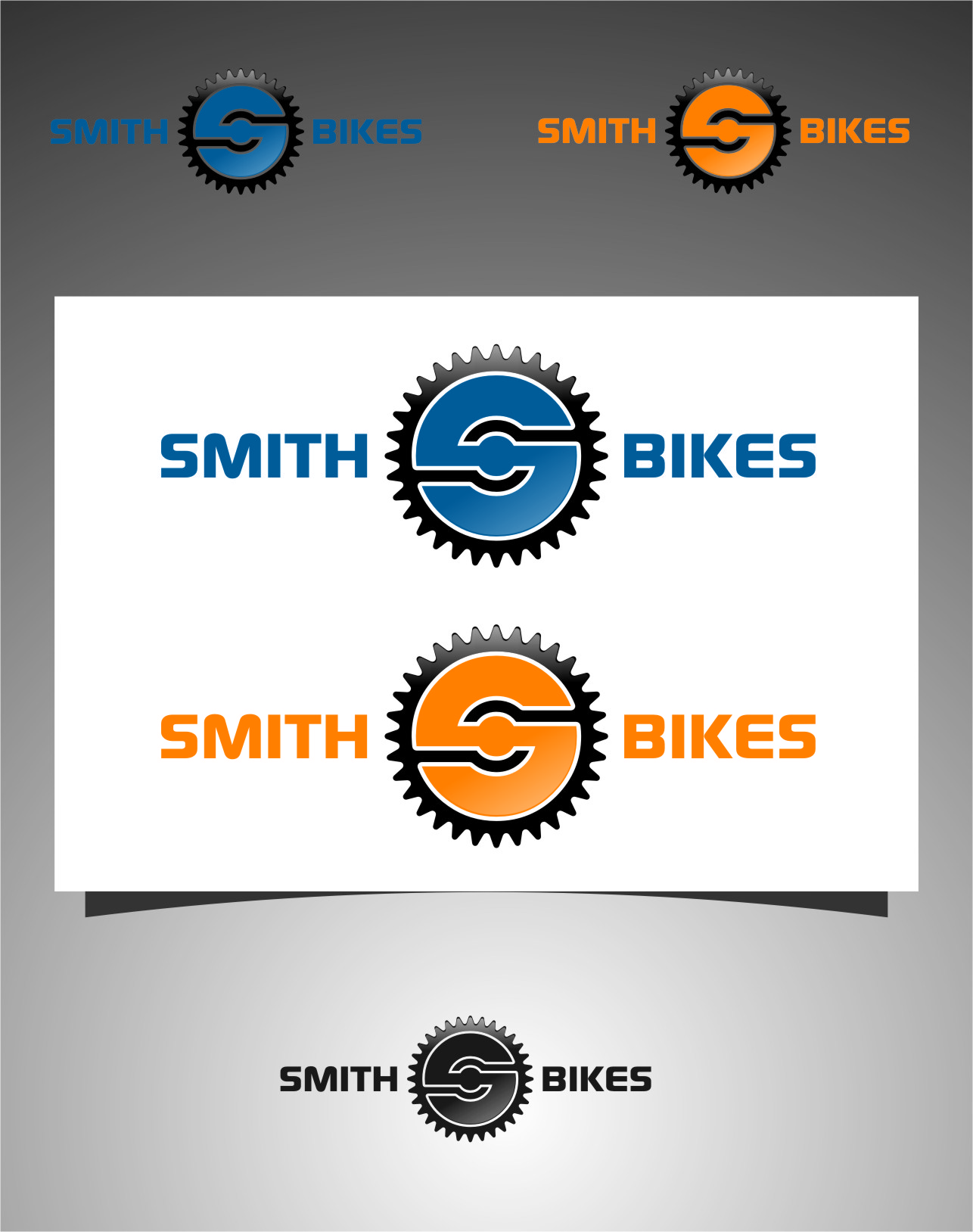 Logo Design by RasYa Muhammad Athaya - Entry No. 108 in the Logo Design Contest Fun Logo Design for SMITH BIKES.