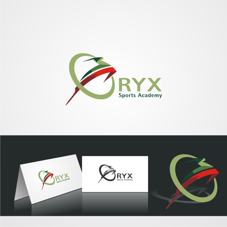 Logo Design by graphicleaf - Entry No. 122 in the Logo Design Contest New Logo Design for Oryx Sports Academy.