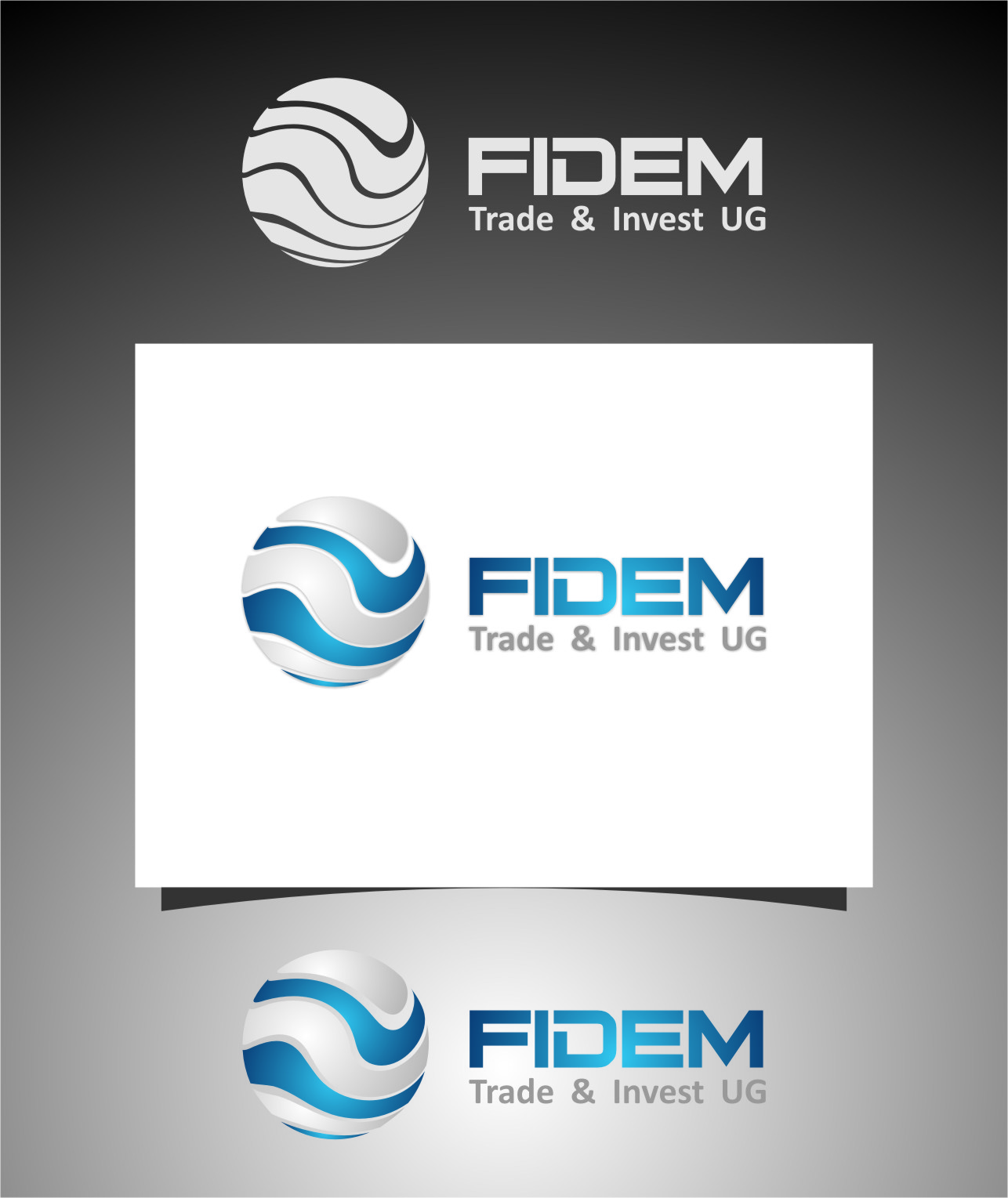 Logo Design by Ngepet_art - Entry No. 158 in the Logo Design Contest Professional Logo Design for FIDEM Trade & Invest UG.