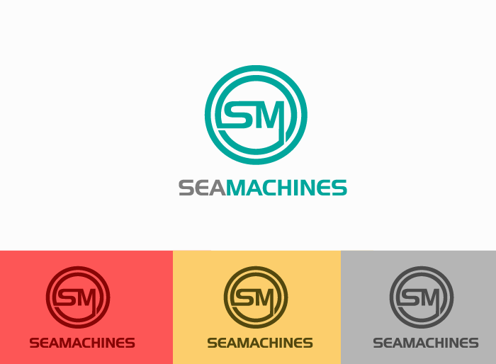Logo Design by Jan Chua - Entry No. 48 in the Logo Design Contest Creative Logo Design for SeaMachines.