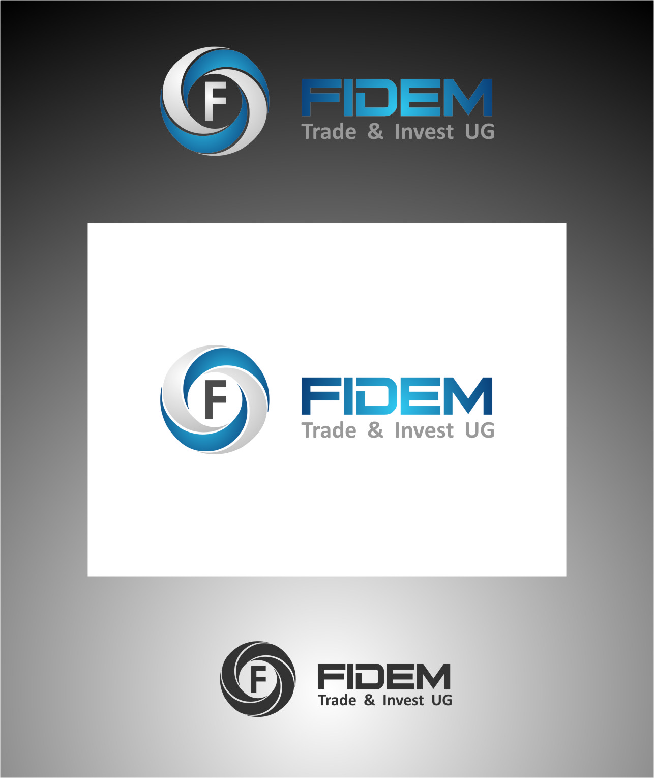 Logo Design by Ngepet_art - Entry No. 175 in the Logo Design Contest Professional Logo Design for FIDEM Trade & Invest UG.
