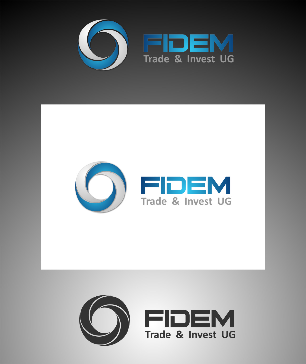 Logo Design by RasYa Muhammad Athaya - Entry No. 178 in the Logo Design Contest Professional Logo Design for FIDEM Trade & Invest UG.