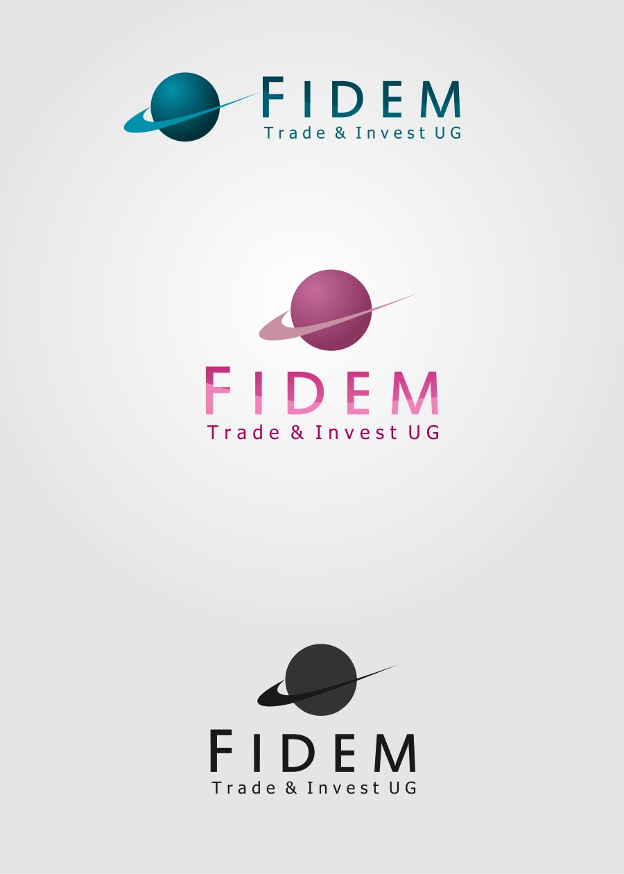 Logo Design by Private User - Entry No. 182 in the Logo Design Contest Professional Logo Design for FIDEM Trade & Invest UG.