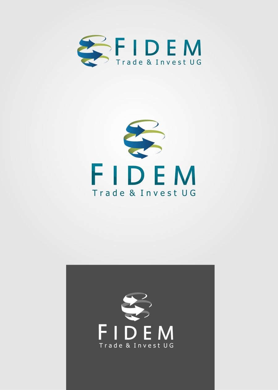 Logo Design by Private User - Entry No. 184 in the Logo Design Contest Professional Logo Design for FIDEM Trade & Invest UG.