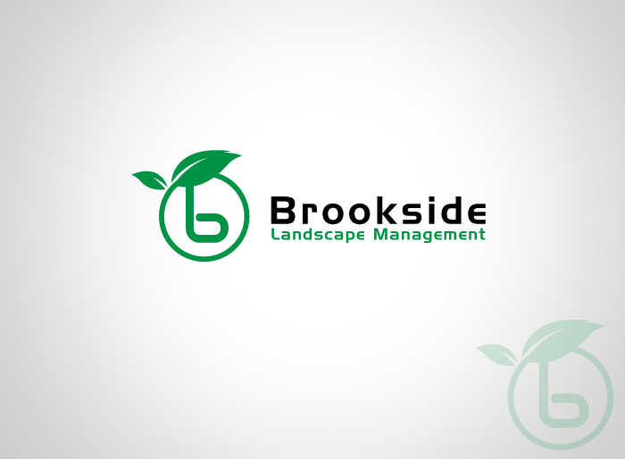 Logo Design by Jan Chua - Entry No. 47 in the Logo Design Contest New Logo Design for Brookside Landscape Management.