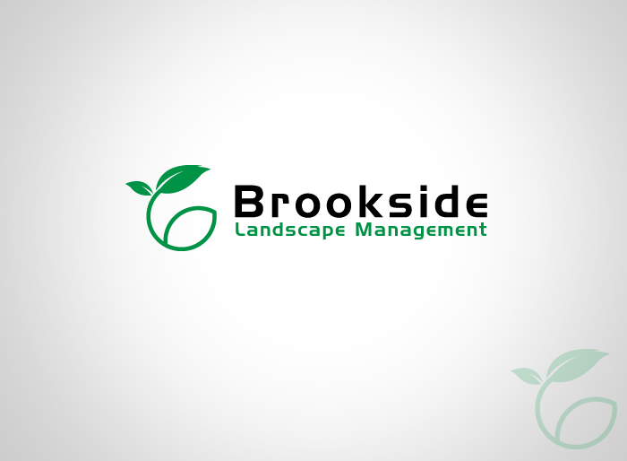 Logo Design by Jan Chua - Entry No. 48 in the Logo Design Contest New Logo Design for Brookside Landscape Management.