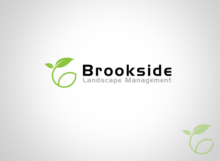 Logo Design by Jan Chua - Entry No. 49 in the Logo Design Contest New Logo Design for Brookside Landscape Management.