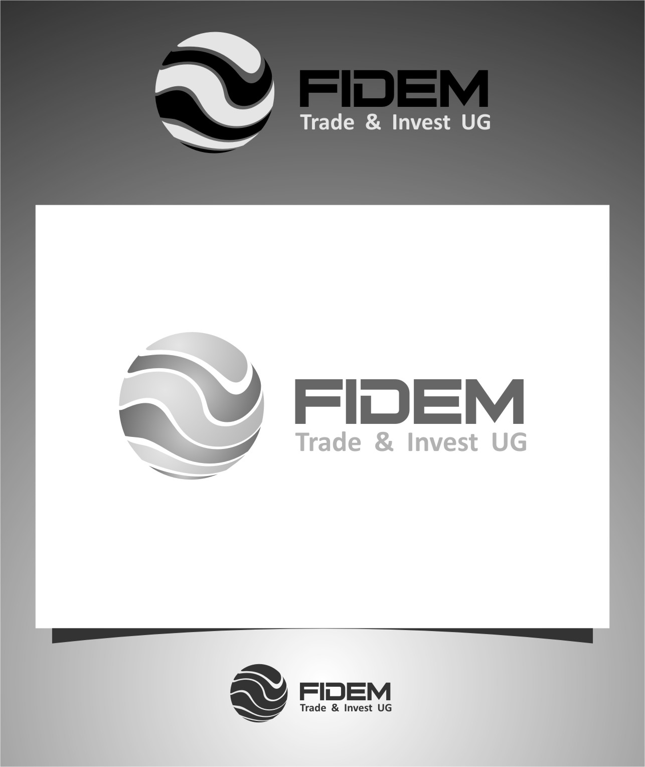 Logo Design by RoSyid Rono-Rene On Java - Entry No. 191 in the Logo Design Contest Professional Logo Design for FIDEM Trade & Invest UG.