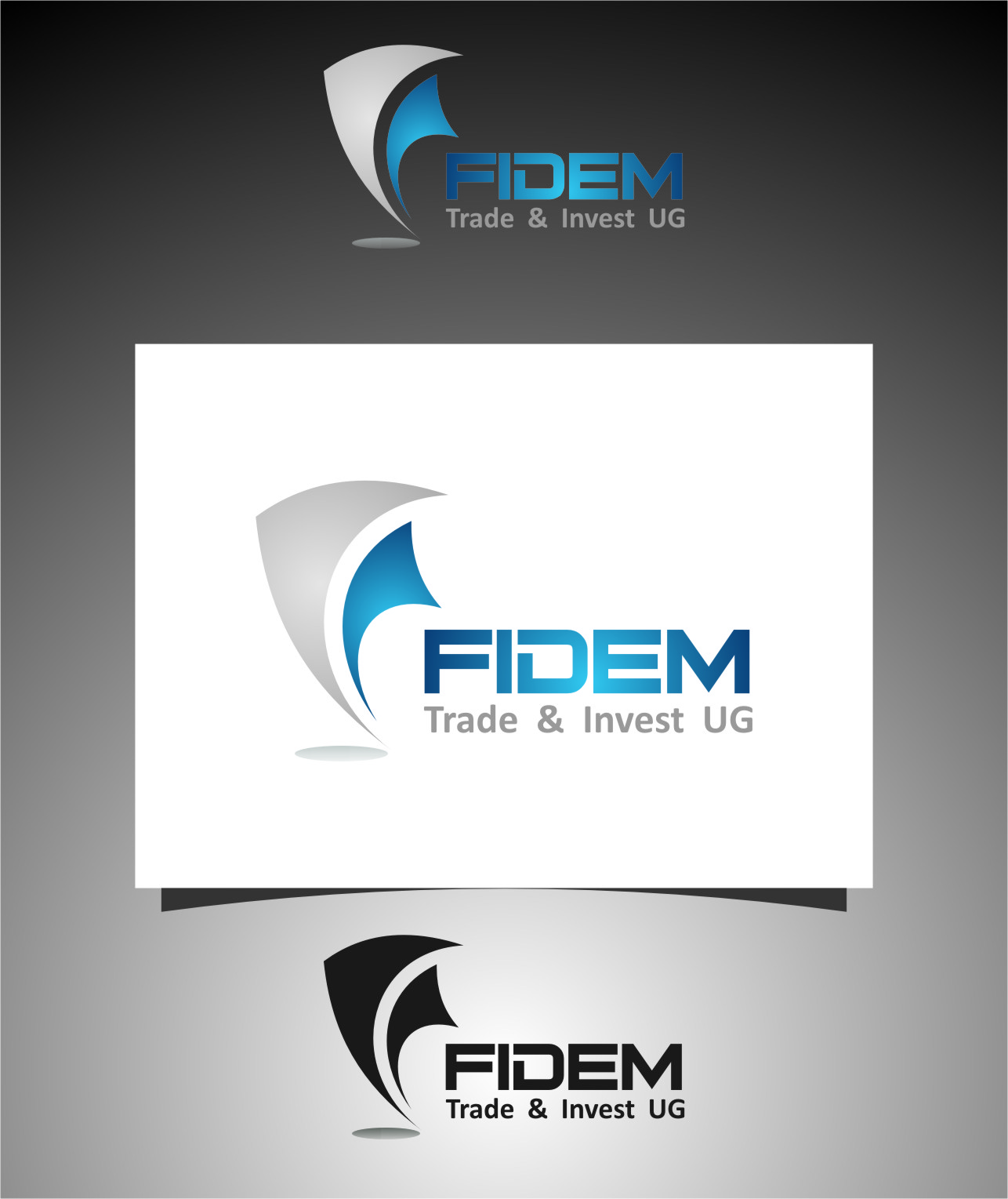 Logo Design by Ngepet_art - Entry No. 192 in the Logo Design Contest Professional Logo Design for FIDEM Trade & Invest UG.