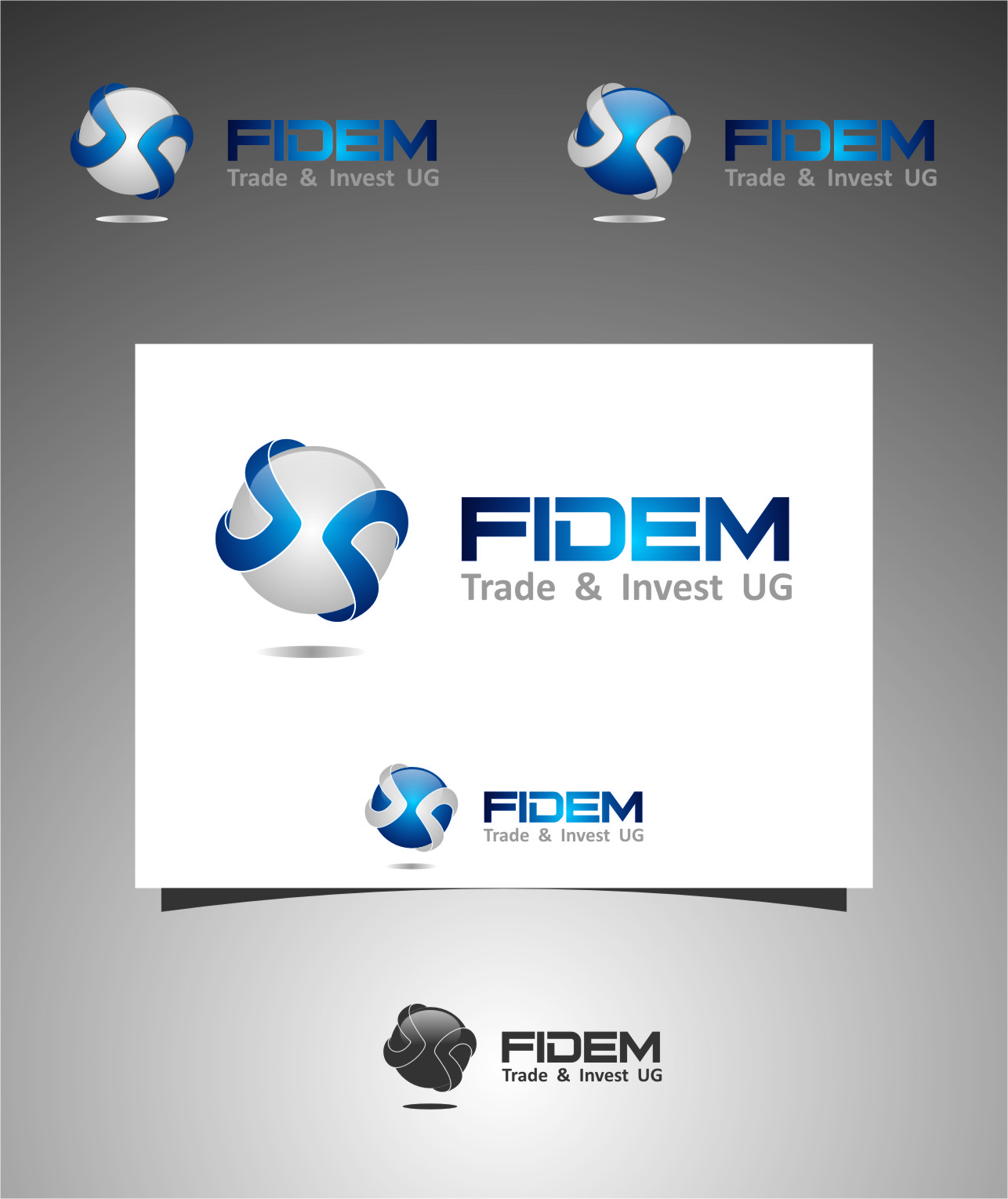 Logo Design by Ngepet_art - Entry No. 195 in the Logo Design Contest Professional Logo Design for FIDEM Trade & Invest UG.